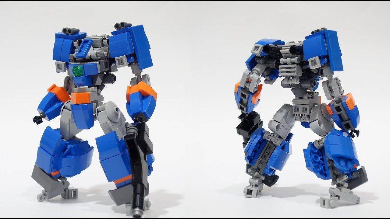 Lego EO Mech Frame 2 Blue Buster R - YouTube
