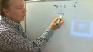 How to do short division using bus stop method