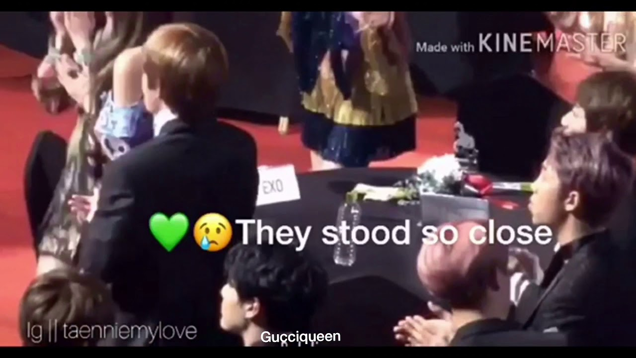 BTS V and BLACKPINK Jennie cute moments|Taennie/VNNIE ...