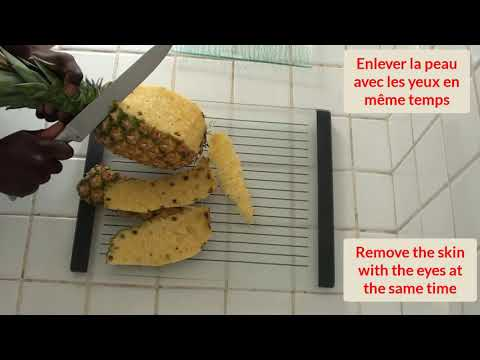 #ananas-découper-un-ananas-#54-/-cut-a-pineapple-🍌🍠