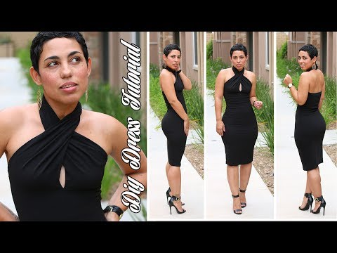 DIY LITTLE BLACK DRESS TUTORIAL