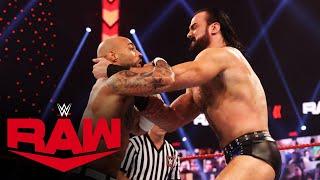 Drew McIntyre vs. Ricochet: Raw, Mar. 29, 2021