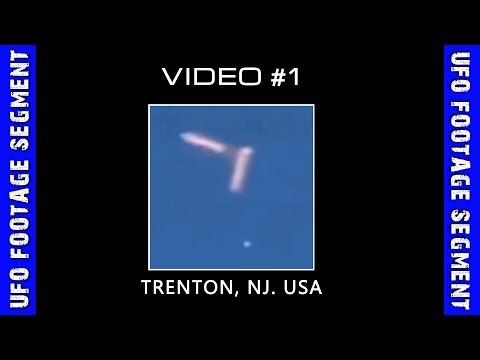 UFO SIGHTING • Snake-Like UFOs and Sphere • Trenton NJ
