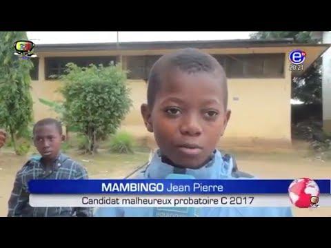 JT 20H00(Jean Pierre âgée de 10 ans candidat malheureux au probatoire C 2017) du 01/08/2017