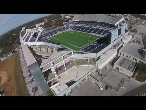 The New Orlando Citrus Bowl Stadium