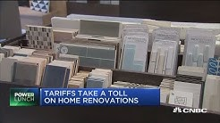 Tariffs take a toll on home renovations