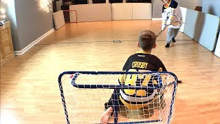 Knee Hockey Sidney Crosby vs Ristolainen Shootout first to 3
