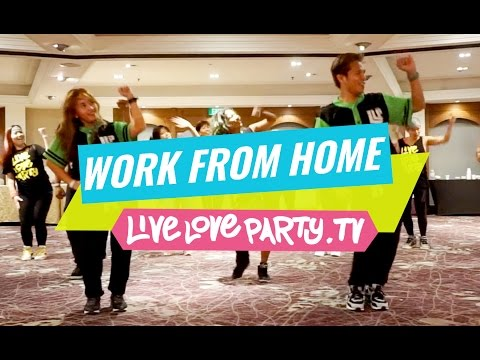 Work From Home | Zumba® with Mark and Che | Live Love Party