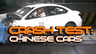 Crash Test Compilation: Chinese car brands under crash test scrutiny - will China prevail?