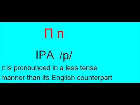 Serbian alphabet pronunciation [IPA]