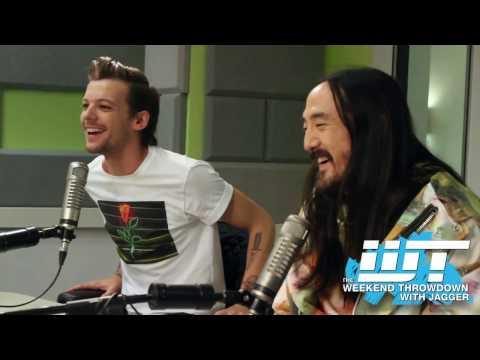 Steve Aoki & Louis Tomlinson Talk 1 Direction Fanbase