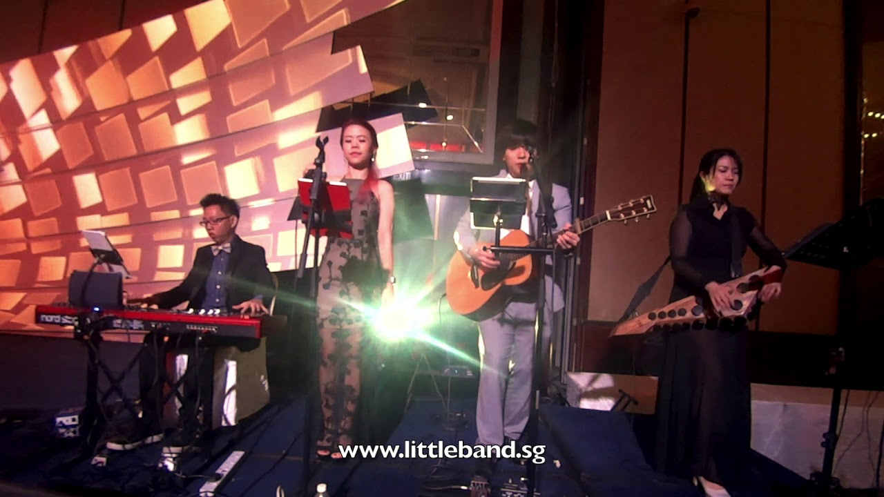 Singapore-Live Band-Corporate Event/ D&D | Little Band Plus cover
