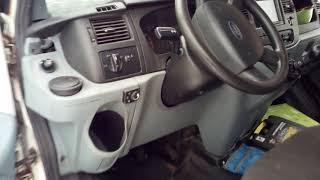 Диагностический разъем OBD2 на Ford Transit