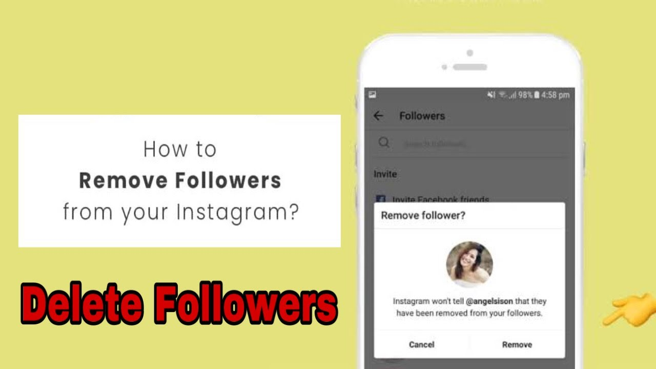 How to Delete Followers on Instagram - how to delete your