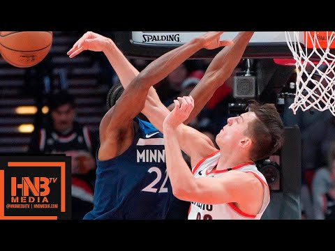 Minnesota Timberwolves vs Portland Trail Blazers Full Game Highlights | 11.04.2018, NBA Season