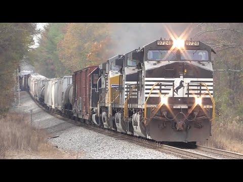 [4E] Railfanning Norfolk Southern's Hub in Central Georgia, Macon GA, 12/03/2016 ©mbmars01