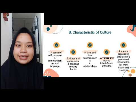 Culture in universal concept and cross cultural term and pri