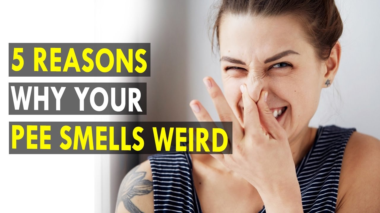 5 Reasons why your pee smells weird