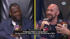 Full Deontay Wilder v Tyson Fury press conference in Los Angeles