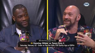 Download Full Deontay Wilder v Tyson Fury press conference in Los Angeles Mp3 and Videos