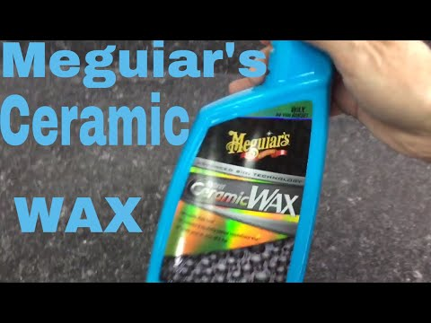 Meguiar's Hybrid Ceramic Wax!! Spray On Protection For Paint, Vinyl, Rubber, Plastic, Etc!!!