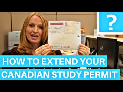 Study permit - Immigration To Canada