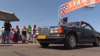 Liefhebbers Mercedes Benz W123 vieren verjaardag met recordpoging