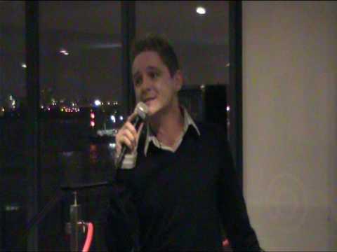 London Semi Finals Michael Morrison Ist Song.