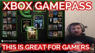 XBOX GAMEPASS (MY THOUGHTS)