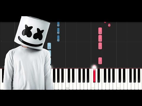 Marshmello Ft Leah Culver - Fly (Piano Tutorial)