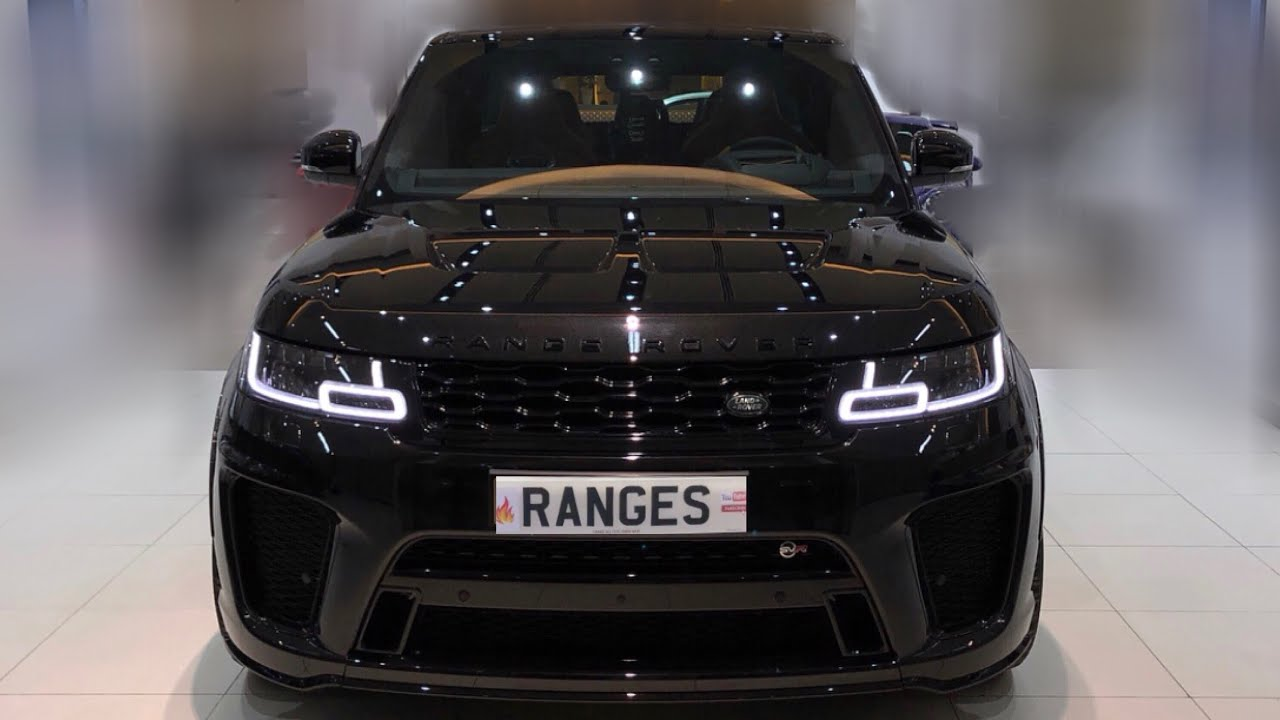 Range Rover Sport >> New Black Range Rover Sport Dynamic like SVR - YouTube