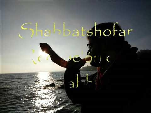 Recepción del Shabbat, Toque de shofar 1!!