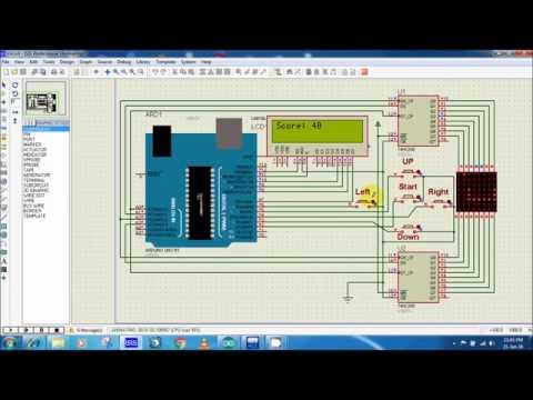 Arduino UNO on Proteus 81 XEON - YouTube