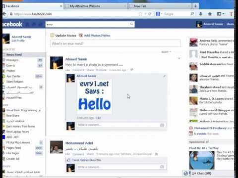 how to delete a photo comment on facebook