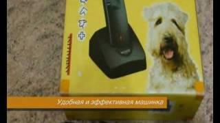 Зоо товары - Машинка для стрижки собак MOSER с насадками