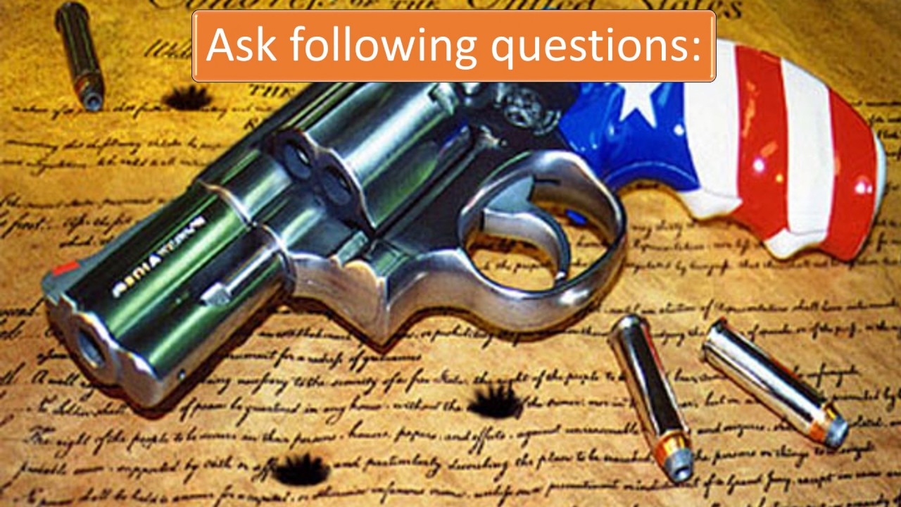 research questions about gun control