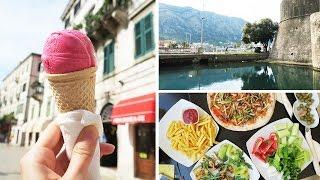 Веганское мороженое в Черногории! Едем в Котор + Дневник питания!