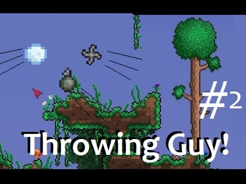 Super Thowing Guy! Terraria classed letsplay.
