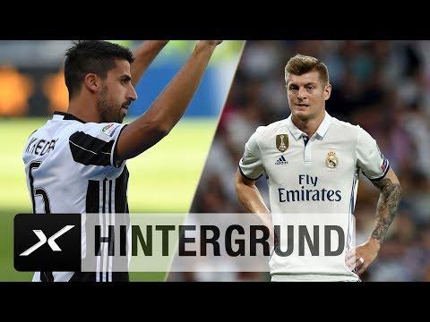 Toni Kroos vs. Sami Khedira: Wer hat die Nase vorne? | Juventus Turin - Real Madrid