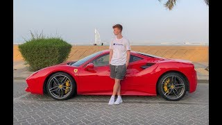 We hired a SuperCar for 24hrs in Dubai ...