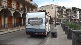 A walk in Acireale, Sicily, in the early morning