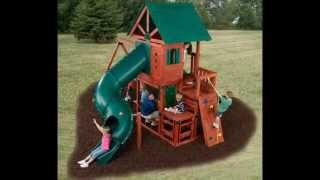 5 Best Wood Swing Sets (Spring 2013)