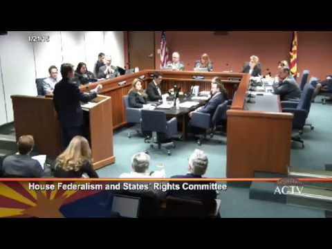 Michael Farris Testifies at Arizona Committee for Convention of States