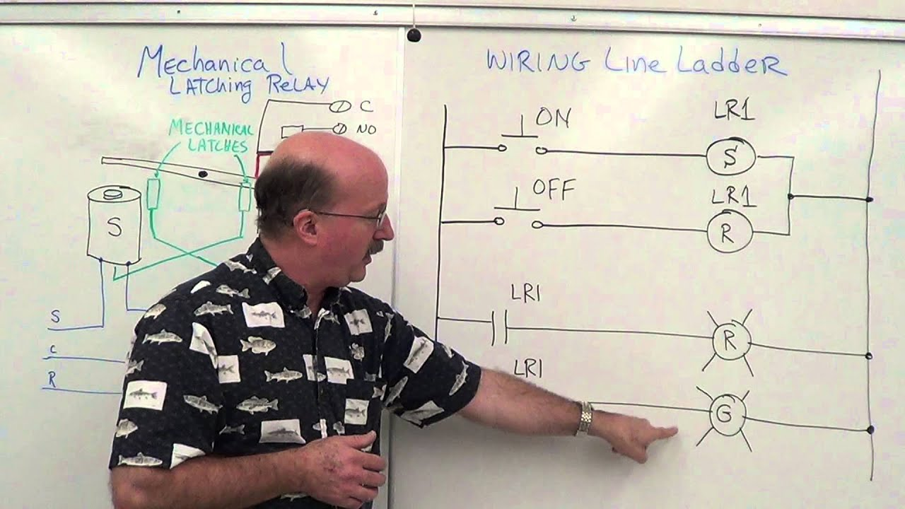 PLC Latching Relays YouTube