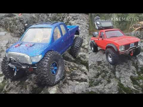PNWRC ROCK CRAWLERS 2nd RC SCALE COMP OF 2020 AT THE SLAB.