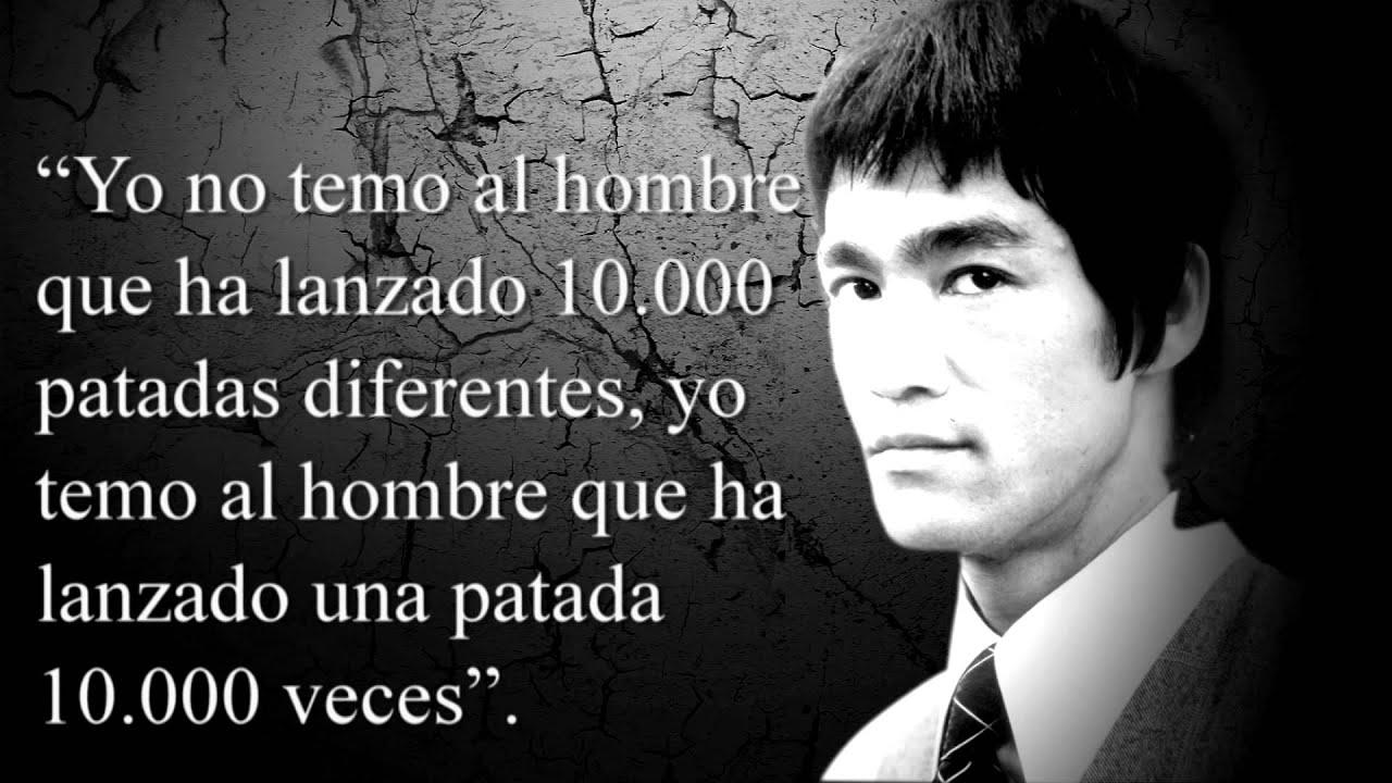 10 Frases De Bruce Lee