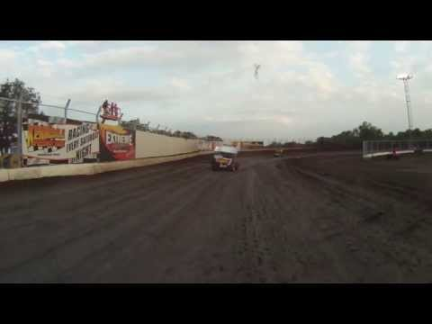Kennedale Speedway Park 305 sprints heat race 6-1-13