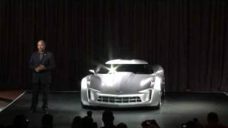 Chevrolet Sting Ray Concept 2009  Videos