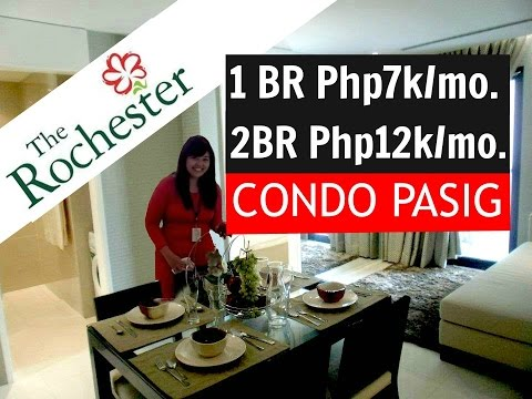 Pre Selling and RFO 1&2 BR CONDO Pasig, TOUR Video Footage  - THE ROCHESTER