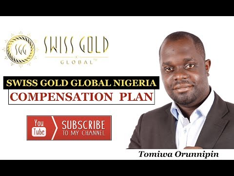 Swiss Gold Global Nigeria | Compensation Plan
